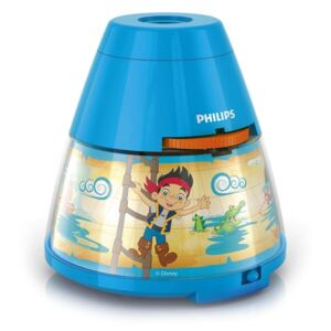 Philips Philips 71769/05/16 - LED Dětský projektor DISNEY PIRATE LED/0,1W/3xAA P2087