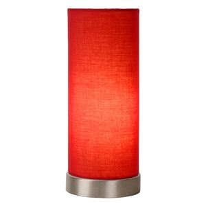 LUCIDE Stolní lampa Tubi Red - Ø 11 cm