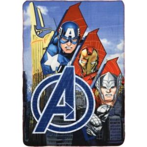 SUN CITY Fleecová / fleece deka Avengers Trio 100x150