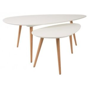White Label Living SIDE TABLE DROP SET OF 2
