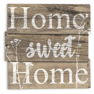 DECOR SIGN - HOME SWEET 30x30 cm Styler