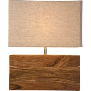 KARE DESIGN Stolní lampa Rectangluar Wood Nature