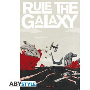 ABYstyle Plakát Star Wars: Last Jedi - Rule The Galaxy