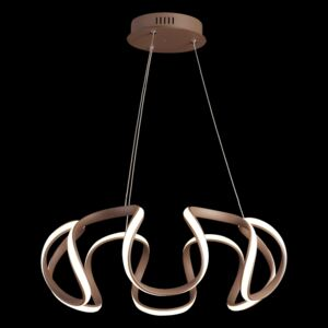 Luxera PASSO LED/38W,3000K,BROWN/WHITE