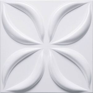 Wall Art Decor ®, 500 x 500 mm, G.006, Obklad 3D EPS extrudovaný polystyren Flower