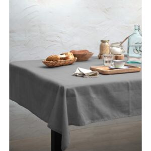 Ubrus Linen Couture Cool Grey, 140 x 140 cm