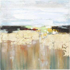 KARE DESIGN Olejomalba Abstract Landscape 120×120 cm