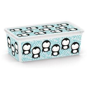 KIS Kis C Box Style XS, Cute Animals, 6l