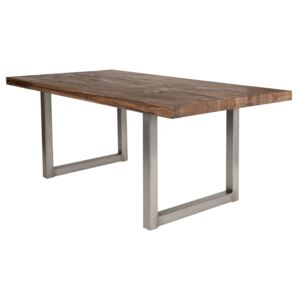 SIT MÖBEL Jídelní stůl TABLES & BENCHES MASSIVE RECTANGLE 180 × 100 × 76 cm, Vemzu