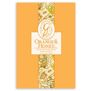 Greenleaf Vonný sáček Orange & Honey, 115 ml Sachet-orange-and-honey