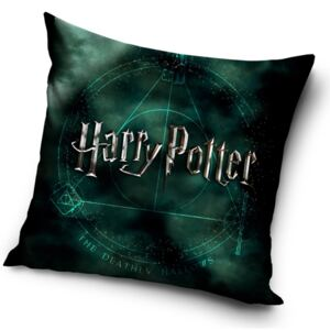 CARBOTEX Povlak na Polštářek Harry Potter Magic 40x40 cm
