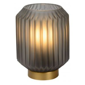 LUCIDE SUENO Table Lamp E14/40W Satin Grey stolní lampa