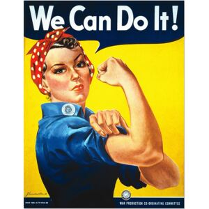 We Can Do It! - War Military Poster