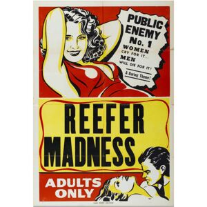 Reefer Madness, Public Enemy - Movie Poster