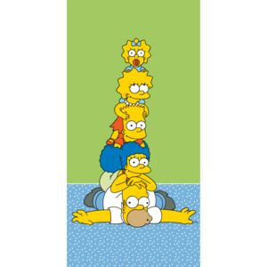 Jerry Fabrics Osuška The Simpsons family