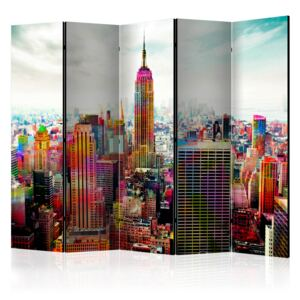 Artgeist Paraván - Colors of New York City [Room Dividers] 225x172