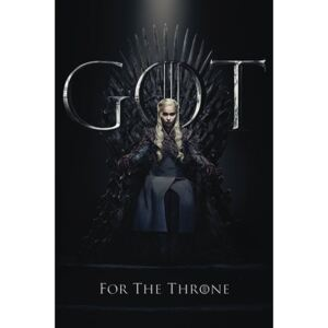 Pyramid International Plakát Game of Thrones - Daenerys For The Throne