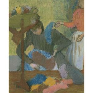 Obraz, Reprodukce - At the Milliner's, c.1898, Edgar Degas