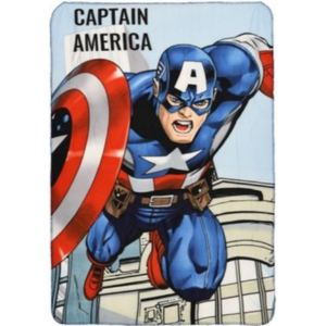 SUN CITY Fleecová / fleece deka Avengers Captain America 100x150