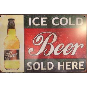 Cedule Ice Cold Beer Sold Here