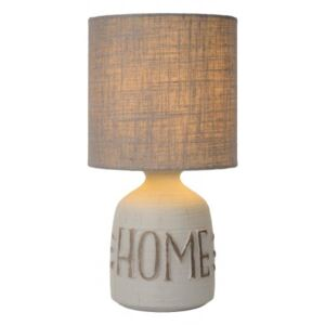 LUCIDE COSBY Table Lamp, E14/H32.5cm Grey, stolní lampa