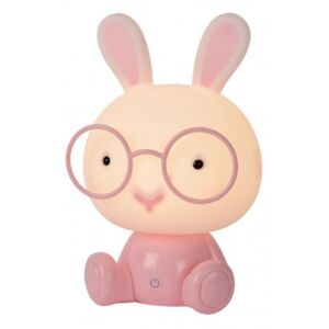 LUCIDE DODO Rabbit Table Lamp LED 3W H30cm Pink, stolní lampa