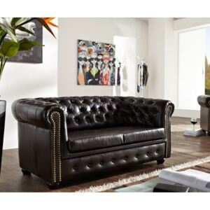 Askont Pohovka Chesterfield Bis 2M Antique Brown