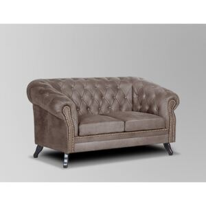 Askont Pohovka Chesterfield Bristol 2M Tabaco 16