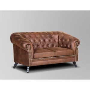 Askont Pohovka Chesterfield Bristol 2M Tabaco 13