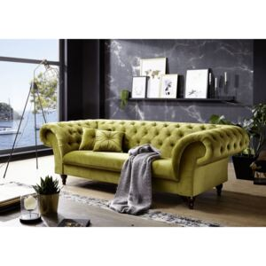 Askont R Pohovka 3M green Chesterfield Preston