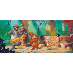 AG Design 1 dílná fototapeta PHOTO MURAL JUNGLE BOOK FTDNH 5355, 202 x 90 cm vlies