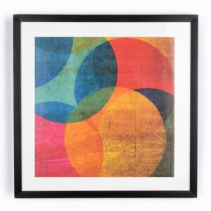 Obraz 41-322, Neon Circle, Wall Art, Graham Brown