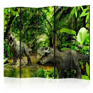 Paraván - Dinosaurs in the Jungle II [Room Dividers]