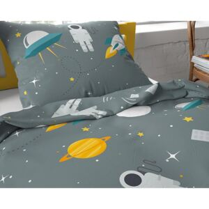 Dreamhouse MOON AND SPACE GREEN 140x200, 60x70
