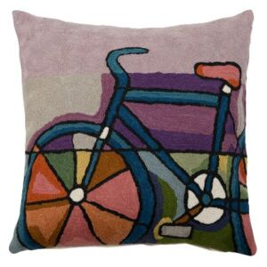 Povlak ART WOOL velo multi 45 x 45 cm
