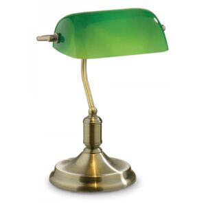 Stolní lampa Ideal lux Lawyer TL1 045030 1x60W E27 - retro