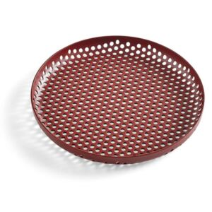 HAY Tác Perforated Tray S, bordeaux