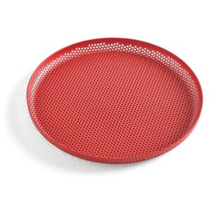 HAY Tác Perforated Tray M, red