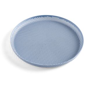 HAY Tác Perforated Tray M, light blue