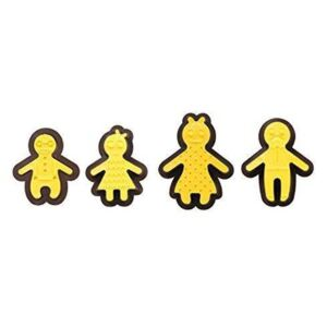 Set 8 ks CUTTERS&DECORMARKERS HAPPY FAMILY - Decora