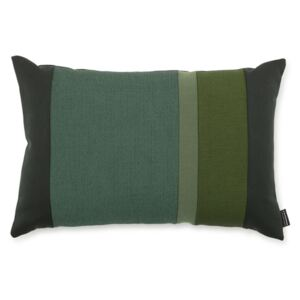 Normann Copenhagen Polštář Line Cushion, green 60x40