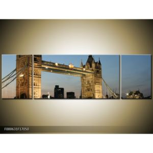 Obraz - Tower Bridge (170x50 cm)