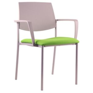LD SEATING židle SEANCE ART 180-N4 BR-N2, kostra chrom