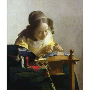Obraz, Reprodukce - The Lacemaker, 1669-70, Jan (1632-75) Vermeer