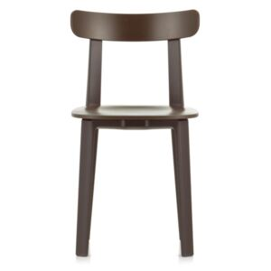 Vitra Židle All Plastic Chair, brown