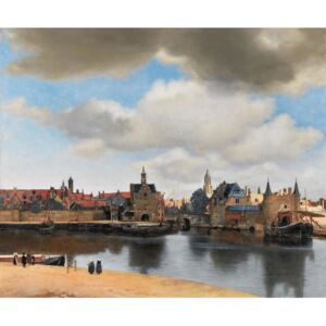 Obraz, Reprodukce - View of Delft, c.1660-61, Jan (1632-75) Vermeer