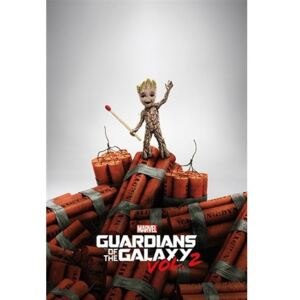 Pyramid International Plakát Guardians of the Galaxy 2 - Groot Dynamite