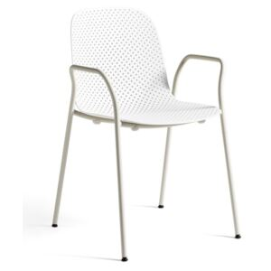 HAY Židle 13Eighty Armchair, chalk white