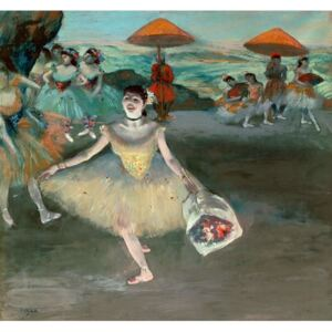 Obraz, Reprodukce - Dancer with bouquet, curtseying, 1877, Edgar Degas