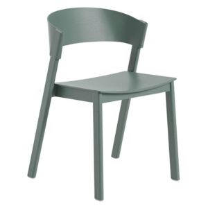 Muuto Židle Cover Side Chair, green